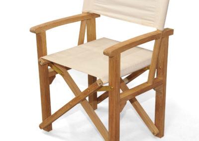 Cream Director Chair