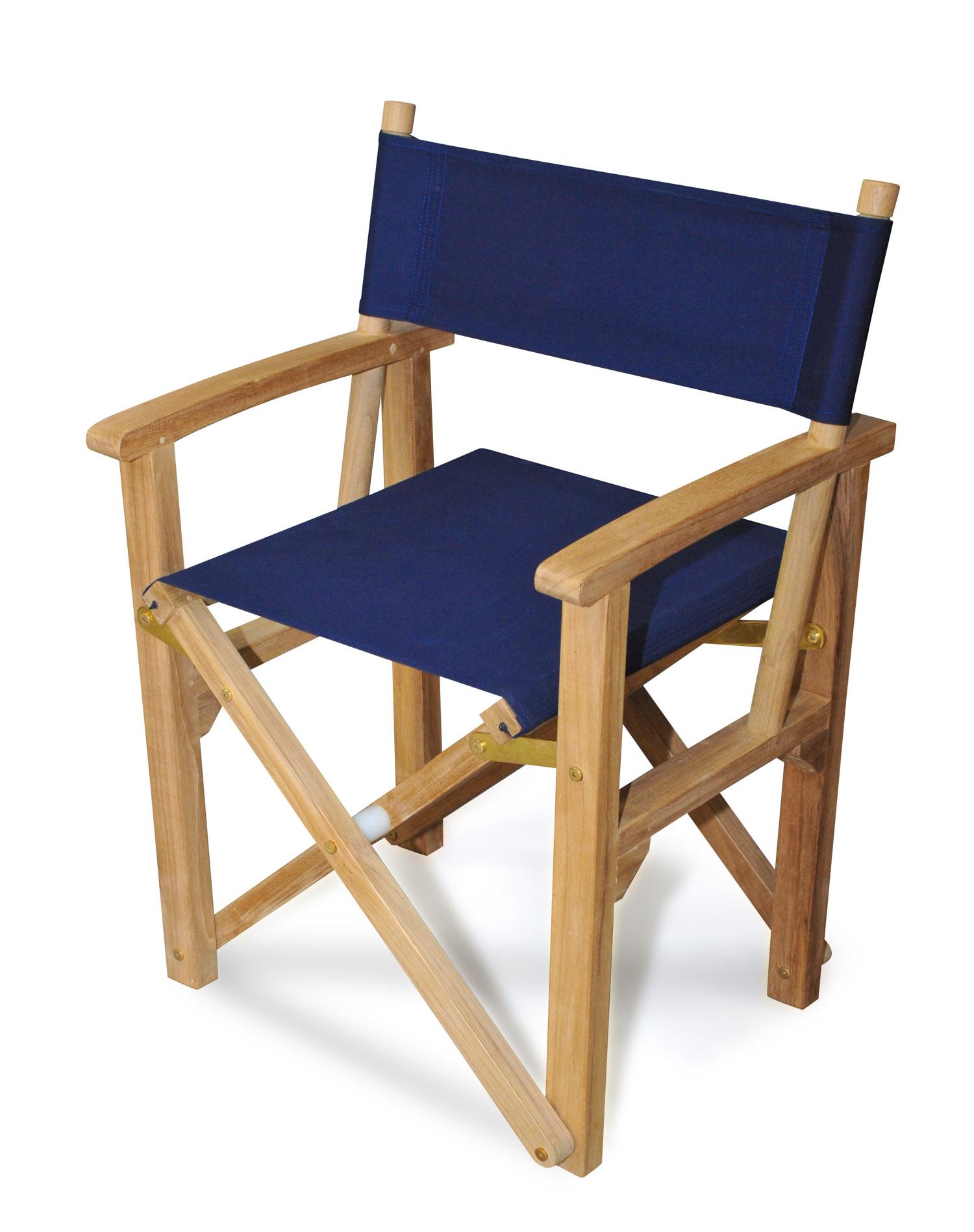 Navy Directors Chair