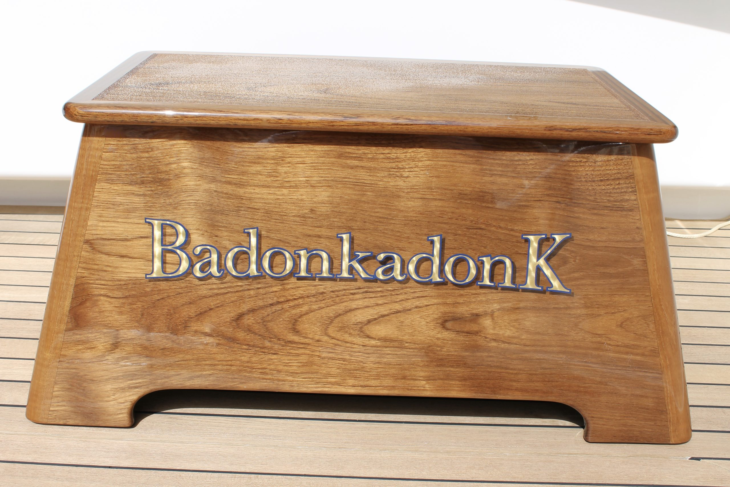 step box with name
